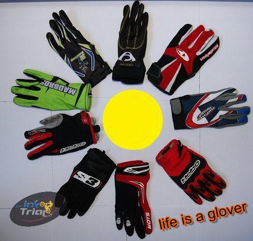 Life is a Glover Comparativa guanti trial e motoalpinismo