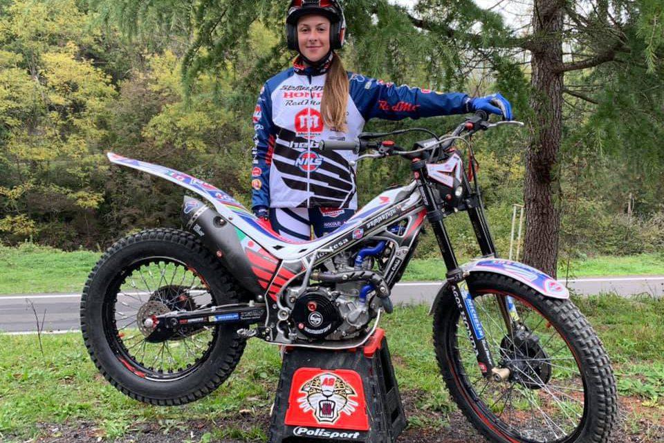 Alex Brancati con il Team Sembenini Nils Red Moto