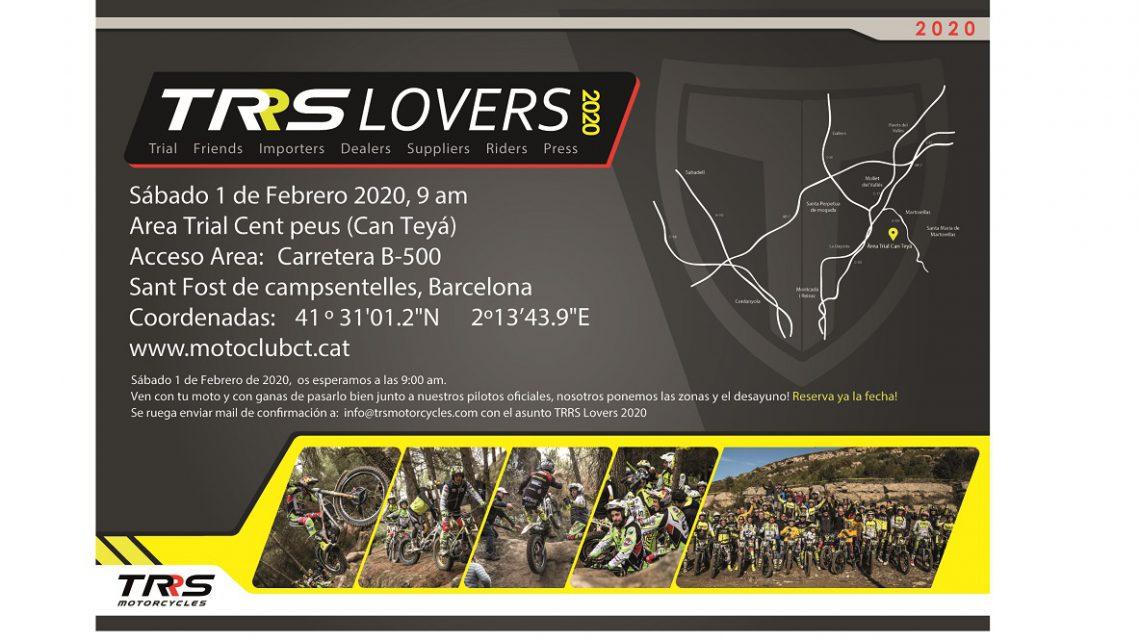 Trrs Lovers il 1 Febbraio a Barcellona