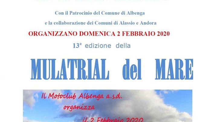Domenica 2 Febbraio Mulatrial del Mare ad Albenga ultime news ed i moduli per iscriversi