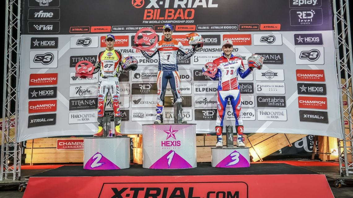 Quinta vittoria per Toni Bou nel mondiale X Trial 2020
