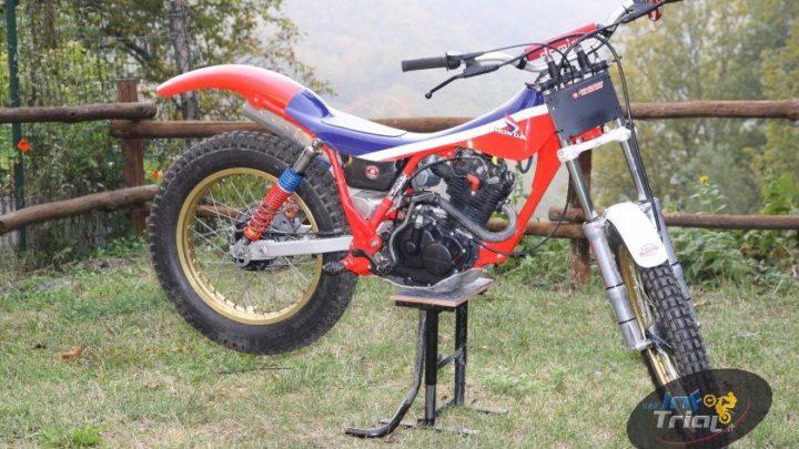 Vintage Test Honda TLR 200 1983