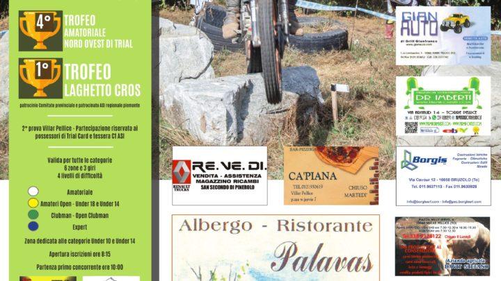 Il 30 Agosto a Villar Pellice (To) secondo appuntamento del Trofeo Nord Ovest, Asi