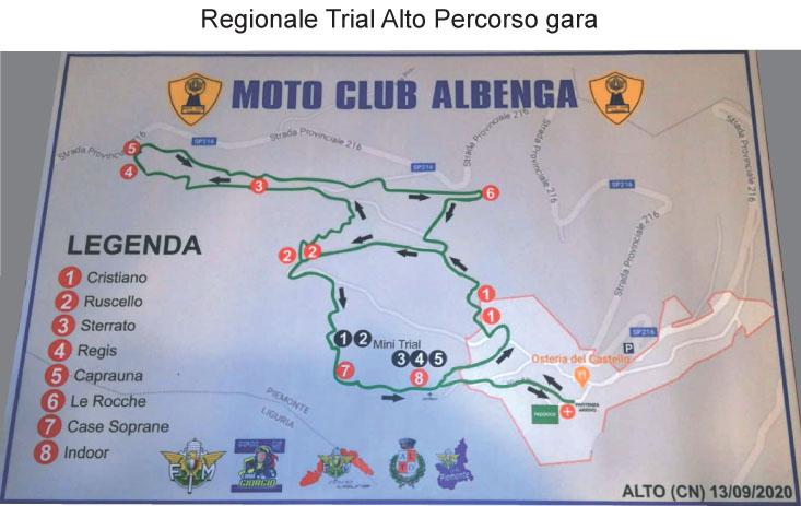 Il percorso, la formula di gara e le ultime informazioni del Campionato Regionale Ligure e Piemontese di Alto del prossimo 13 Settembre
