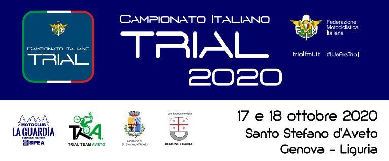 2° Comunicato Stampa Campionato Italiano Santo Stefano d'Aveto 17 – 18 Ottobre 2020