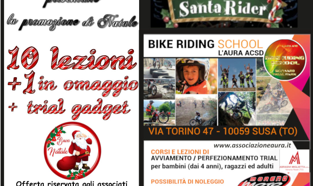 10 lezioni più una gratis con il Bike Riding School – Skyward Trial Team