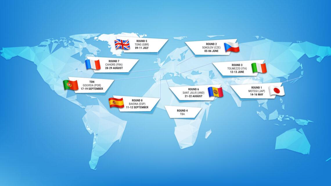 Calendario provvisorio mondiale outdoor 2021