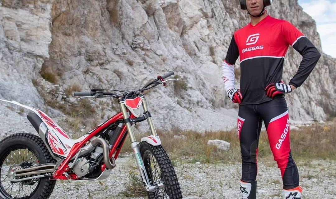 GASGAS MOTORCYCLES ITALIA DA' IL BENVENUTO A GIANLUCA TOURNOUR PER LA STAGIONE TRIAL 2021