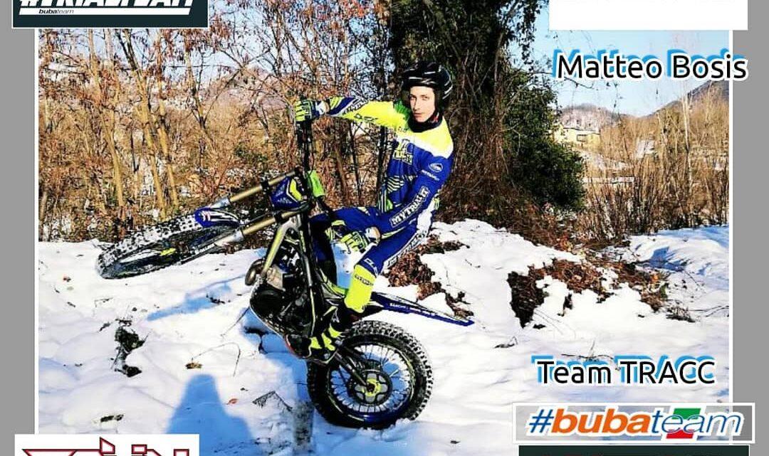 Matteo Bosis con Sherco e Buba Team nel 2021