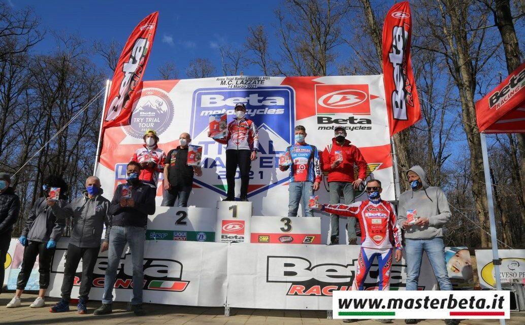 Master Beta 2021 Domenica 14 Marzo Campo Scuola Trial Battu' (Mb) Organizzazione Motoclub Lazzate Commento, classifiche e galleria fotografica