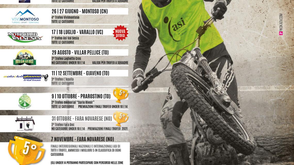 Calendario Trofeo Asi Piemonte 2021