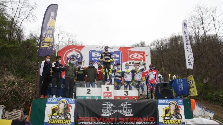 Trial Master Beta 2021 Classifiche 2° prova 11 Aprile Pro Park Genova Ceranesi Organizzazione Motoclub la Guardia