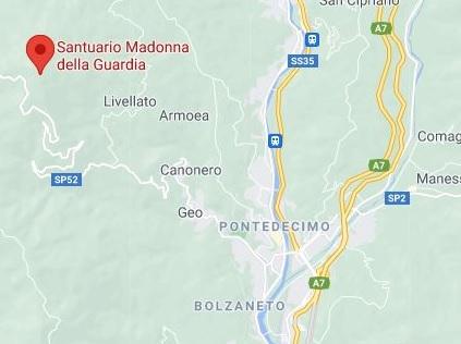 Campionato Italiano Trial 2021- 1°prova 25 aprile Santuario della Madonna della Guardia e Pro Park Ceranesi (Ge) PER RAGGIUNGERE IL PADDOCK USCITA A7 GENOVA BOLZANETO