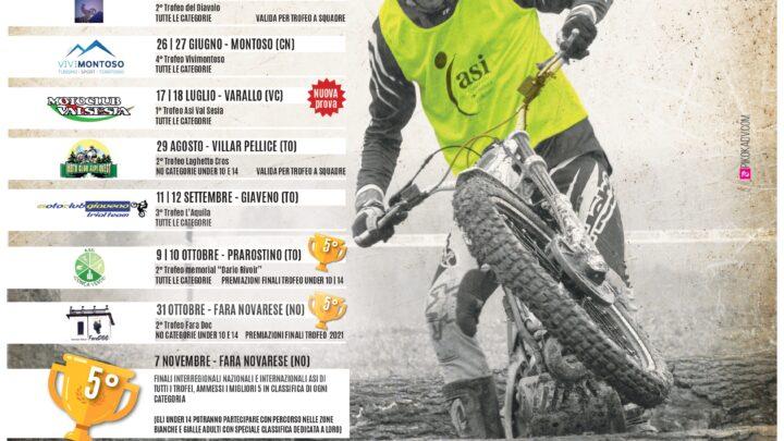 Calendario Trofeo Amatoriale ASI Piemonte 2021, aggiornamento del 14 Aprile