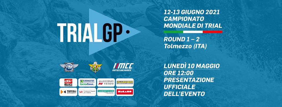 Gp d'Italia 2021 12 e 13 Giugno a Tolmezzo.Presentazione manifestazione alle ore 12