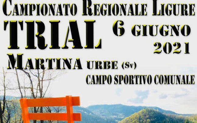 Presentazione Campionato Regionale Ligure 2021 e prima prova Martina Urbe 6 Giugno.INFO, ORARI MINITRIAL E ADULTI