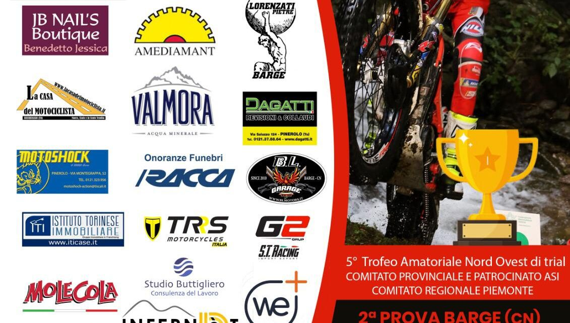Domenica 30 Maggio Trofeo Asi a Barge (Cn).Tutte le info