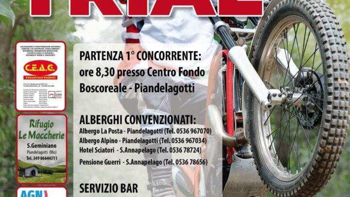 Trofeo Centro Sud il 6 Giugno a Piandelagotti (Mo).Tutte le info