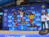 Andrea Sofia Rabino vince la seconda giornata del Gp d'Italia di Tolmezzo con Sara Trentini seconda.