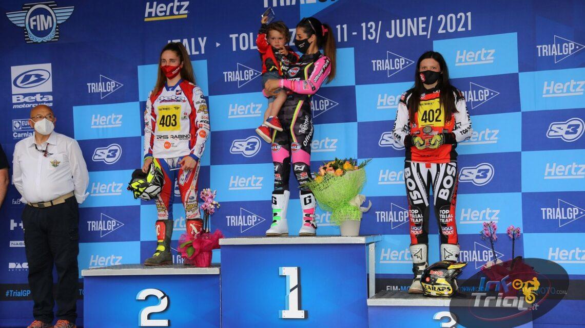 Sara Trentini, Andrea Sofia Rabino, Matteo Grattarola e Lorenzo Gandola conquistano vittoria e podio nella prima giornata del Gp d'Italia di Tolmezzo CON GALLERIA FOTOGRAFICA COMPLETA