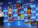 Sara Trentini, Andrea Sofia Rabino, Matteo Grattarola e Lorenzo Gandola conquistano vittoria e podio nella prima giornata del Gp d'Italia di Tolmezzo