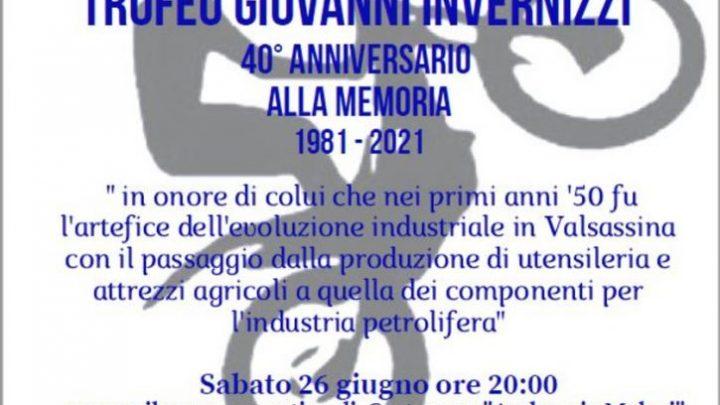 Sabato 26 a Cortenova prima prova del Campionato Italiano Indoor 2021