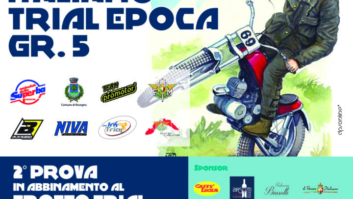Campionato Italiano Trial Epoca il 3 e 4 Luglio a Rovegno (Ge).Tutte le info ed orari