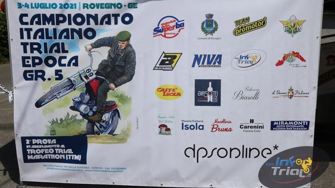 Campionato Italiano Epoca 2021. Rovegno Prima giornata. Organizzazione Motoclub della Superba