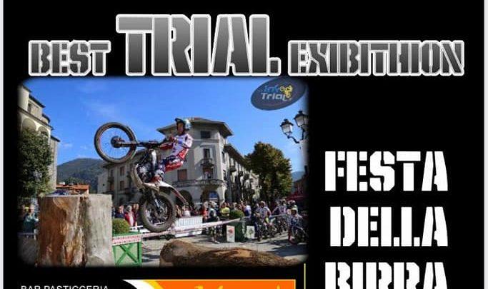 Esibizione di trial a Santo Stefano d'Aveto il 28 Agosto